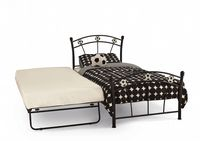 Serene Soccer Guest Bed in Black or White Gloss
